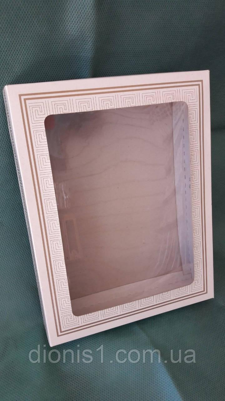 Коробка для кухонных полотенец Версаче картон 215х165х40
