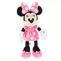 Плюшевая игрушка Минни Маус в розовом платье 45 см Дисней / Minnie Mouse Plush pink Disney