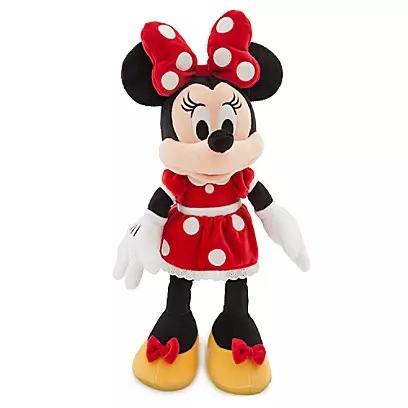 Плюшевая игрушка Минни Маус в красном платье 45 см Дисней / Minnie Mouse Plush red Disney