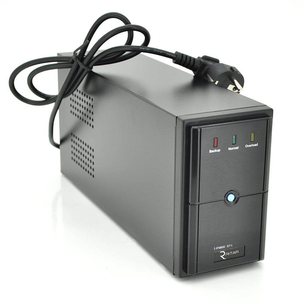 ИБП Ritar E-RTM600L (360W) линейно-интерактивный