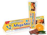 """Зубная паста для детей Mega Mint """"Апельсин и Шоколад"""" (50мл.)"""