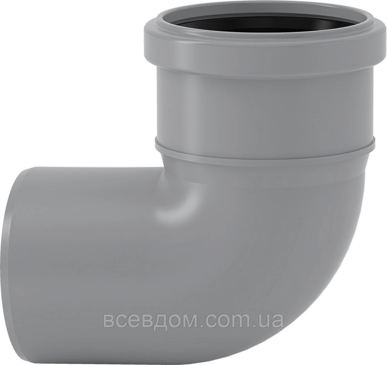 HTB Колено Valsir внутренней канализации 110х87°