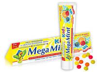 "Зубная паста для детей Mega Mint ""Фруктовая жвачка"" (50мл.)"