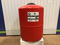 Бак расширительный для систем  отопления 8 л. круглый LIDER PUMPS