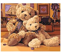 Картина по номерам Братец-медвежонок.