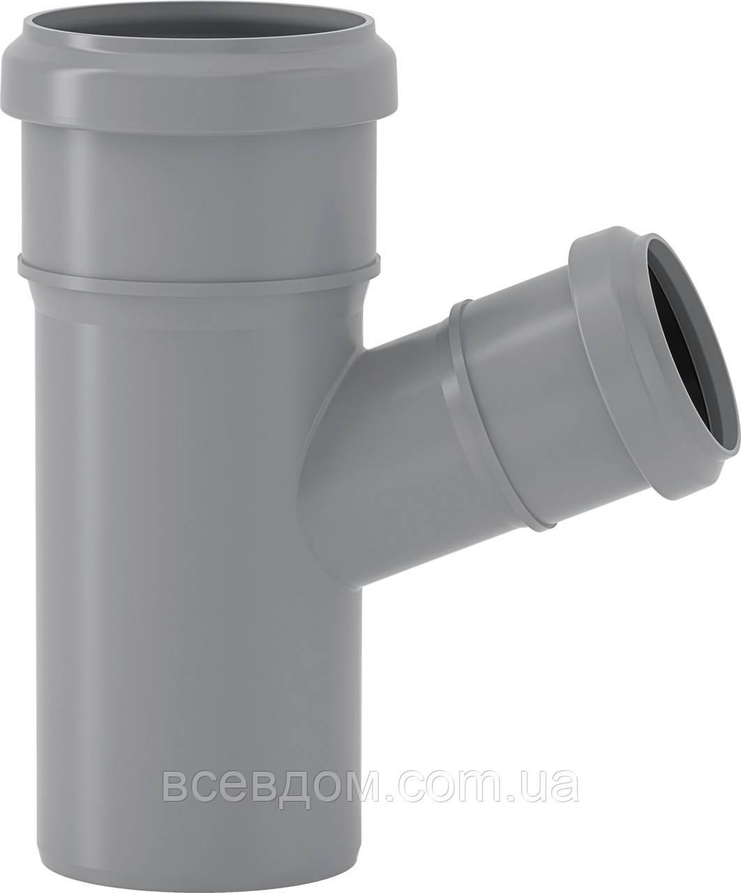 HTEA трійник внутрішньої каналізації Valsir 110/50х45°