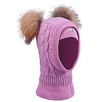 Шапка-шлем для девочки  TuTu  118 арт. 3-004802 (48-52, 52-56), фото 1
