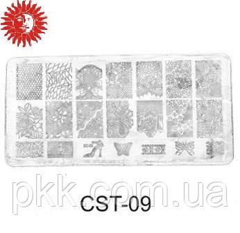 Трафареты для стемпинга Christian диск CST-09