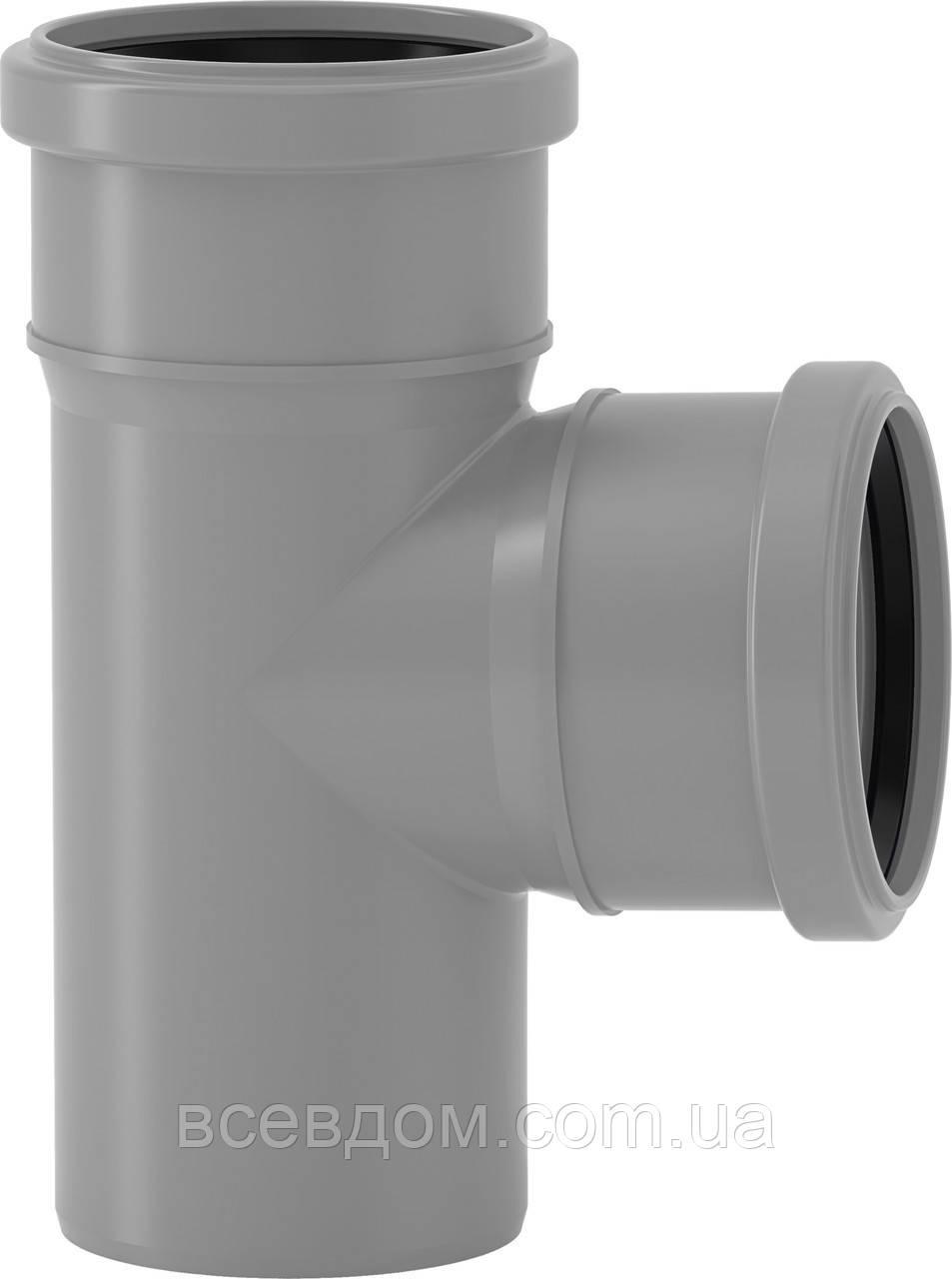 HTEA тройник Valsir внутренней канализации 50/50х87°