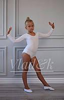 Трико Vlad&K Україна 9201 Для дівчаток Білий Зростання 98-164