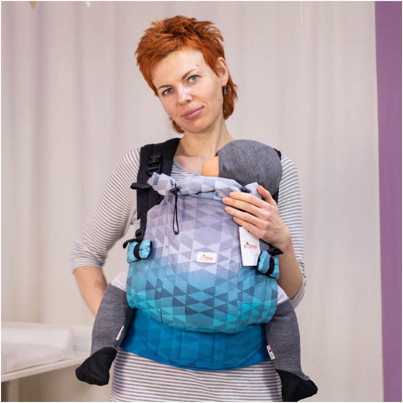 Май-рюкзак DI SLING Adapted Blue Diamond (2 размер)