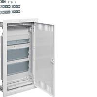 Щит трехрядный для ММ-установки VOLTA Hager с метал.дверцами (VU36NWB)