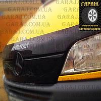 "Зимняя накладка Mercedes Sprinter CDI 2000-2002 Увеличенная решетка радиатора Глянец ""FLY"""