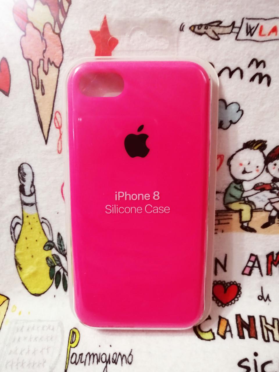Силиконовый чехолApple Silicone CaseдляiPhone 7 / 8 - Color 13