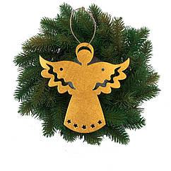 Ангелочек декор золото