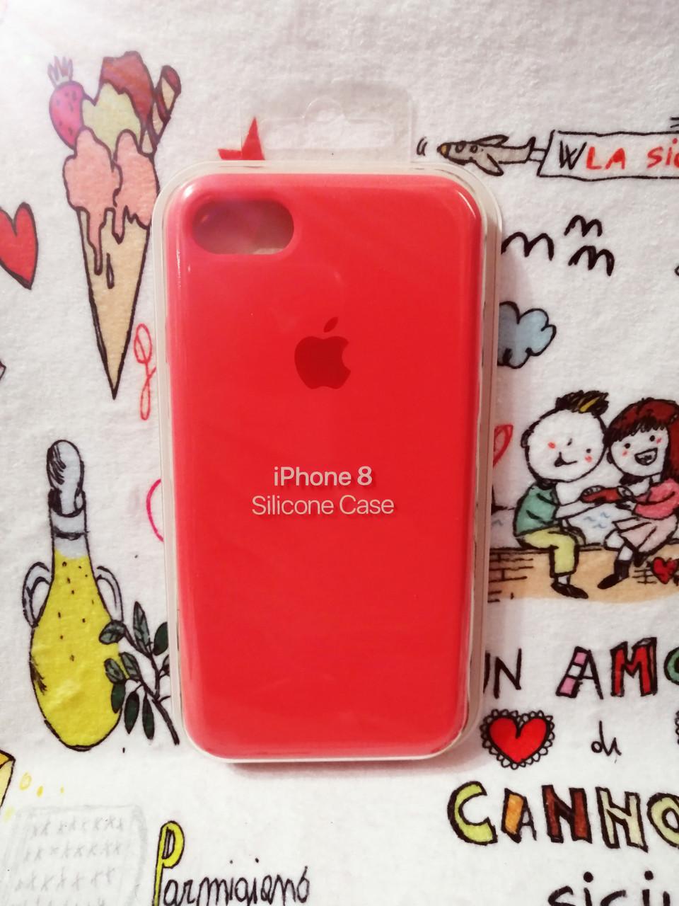 Силиконовый чехолApple Silicone CaseдляiPhone 7 / 8 - Color 14