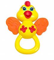 Погремушка-прорезыватель Цыпленок, BeBeLino  57105