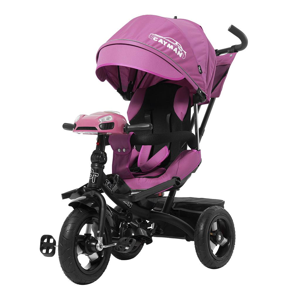 Детский трёхколёсный велосипед Cayman, «Tilly» (T-381), цвет Purple (фиолетовый)