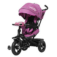 Детский трёхколёсный велосипед Cayman, «Tilly» (T-381), цвет Purple (фиолетовый), фото 1