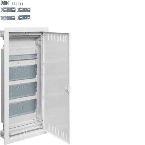 Щит четырехрядный для ММ-установки VOLTA Hager с метал.дверцами (VU48NWB)