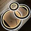 Люстра світлодіодна з пультом Luminaria Trlplex Round 108W