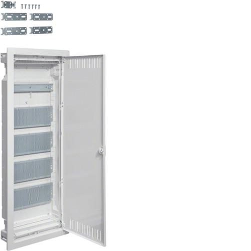 Щит пятирядный для ММ-установки VOLTA Hager с метал.дверцами (VU60NWB)