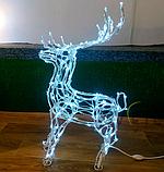 Светодиодная 3D Фигура Олень 70см, фото 2