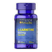 Puritan's Pride L-Carnitine 500 mg (60 таб) л карнитин пуританс прайд