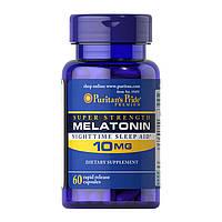 Мелатонин Puritan's Pride Melatonin 10 mg (60 капс) пуритан прайд мелатонин