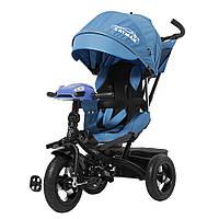Детский трёхколёсный велосипед Cayman, «Tilly» (T-381), цвет Blue (синий), фото 1