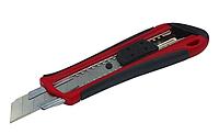 Нож пластиковый 18 мм резиновые вставки HAISSER 23501, фото 1