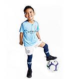 Детская футбольная форма Манчестер Сити №7 Рахим Стерлинг, фото 5