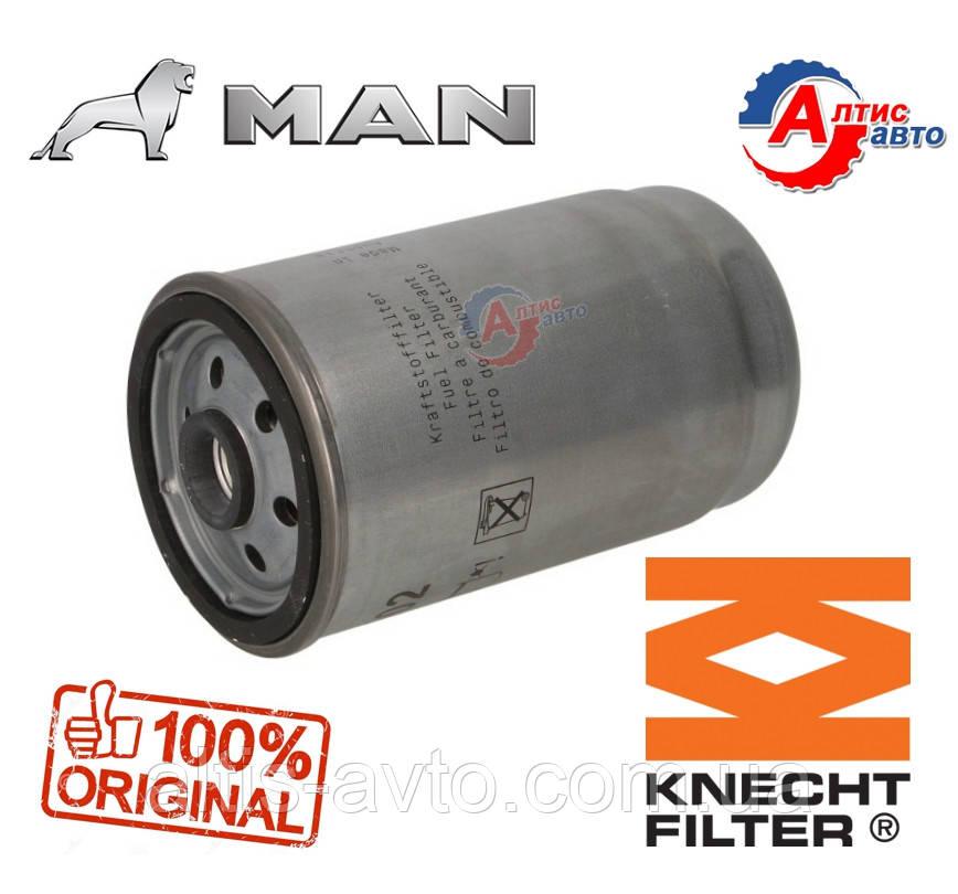 Фильтр топливный Man F2000 (Командор) F90, L2000 KC102 Tgm, Tgl запчасти топливной KC102
