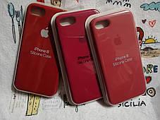 Силиконовый чехолApple Silicone CaseдляiPhone 7 / 8 - Color 17, фото 3
