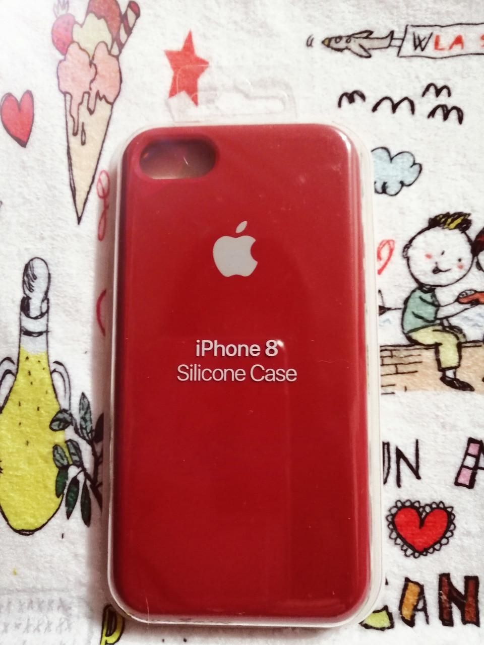 Силиконовый чехолApple Silicone CaseдляiPhone 7 / 8 - Color 17