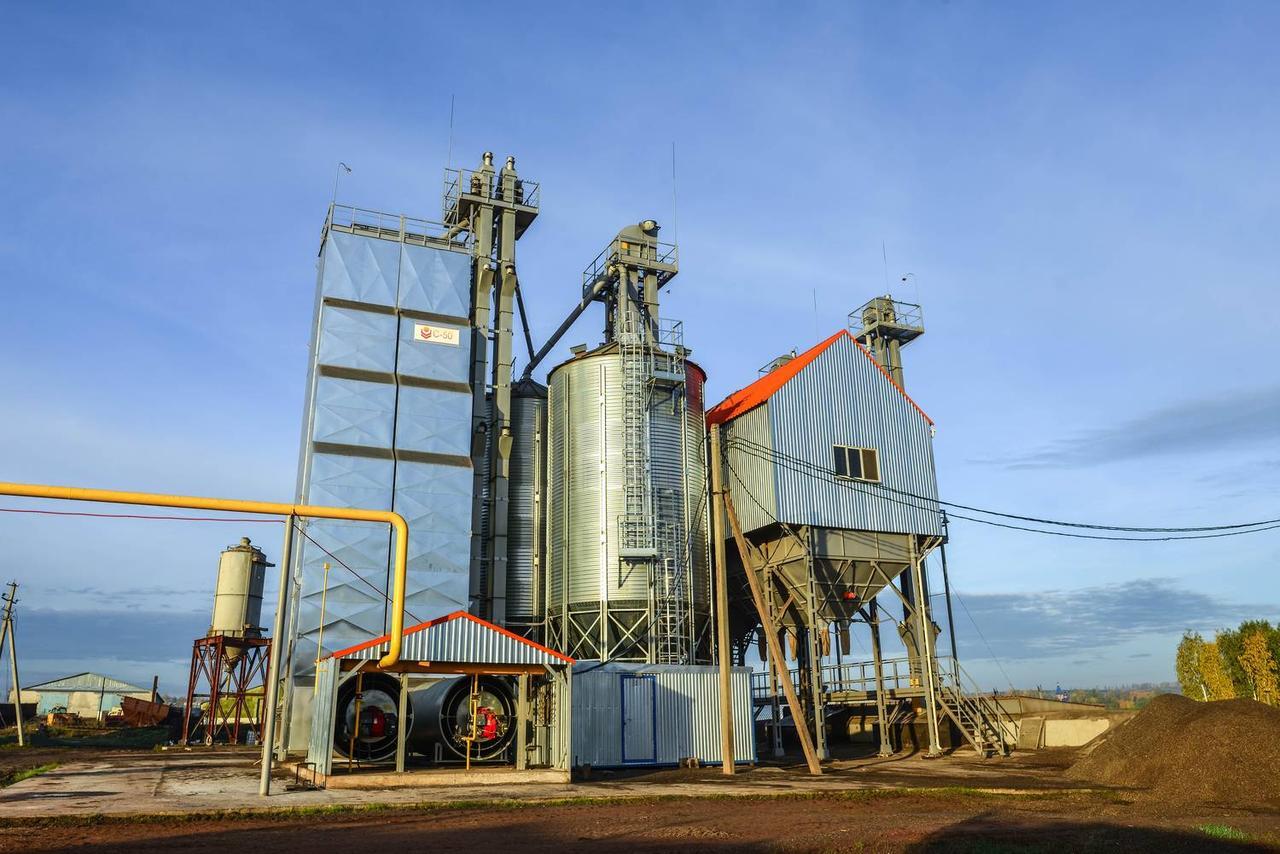 Зерносушильно-очистительный комплекс PERRY
