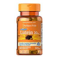 Лютеин Puritan's Pride Lutein 20 mg (30 капс) пуританс прайд