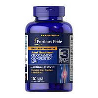 Для суставов и связок Puritan's Pride DS Glucosamine, Chondroitin & MSM Joint Soother (120 капс) пуритан прайд