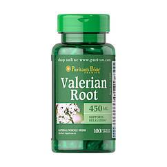 Женские виатмины Puritan's Pride Valerian Root 450 mg (100 капс) пуритан прайд валериан рут