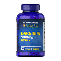 Аминокислоты Puritan's Pride L-Arginine 1000 mg (100 капс) пуритан прайд л-аргинин