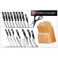 Набор кухонных ножей Miracle Blade, Австрийские ножи, набор прочных ножей, ножи для кухни, фото 3