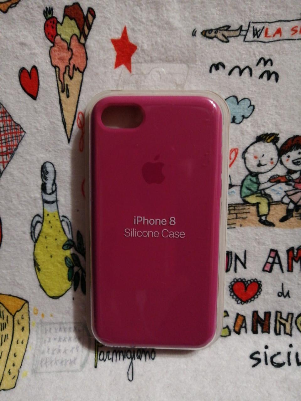 Силиконовый чехолApple Silicone CaseдляiPhone 7 / 8 - Color 20