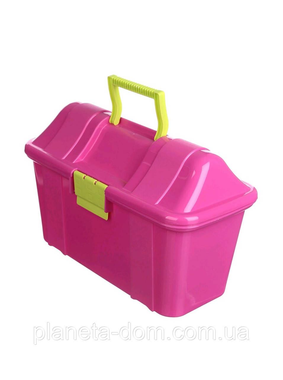 Ящик пластиковый-сундук Heidrun Boxmania 7,7л, 38,5х27,5х24см