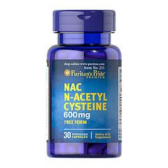 N-ацетилцистеин Puritan's Pride NAC N-Acetyl Cysteine (30 капс) пуританс прайд