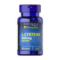 L-цистеин Puritan's Pride L-Cysteine 500 mg (50 капс) пуритан прайд