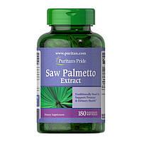Витамины для мужчин Puritan's Pride Saw Palmetto Extract (180 капс)  пуритан прайд сав пальмето экстра