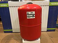 Бак расширительный для систем  отопления 24 л. круглый LIDER PUMPS