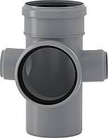 HTED крестовина двухплоскостная Valsir внутренней канализации 110/50/110/50х87°
