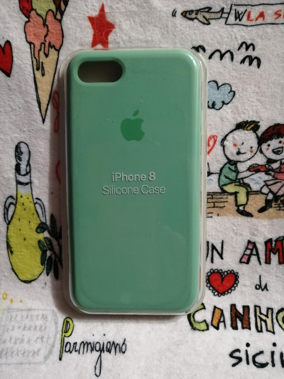 Силиконовый чехолApple Silicone CaseдляiPhone 7 / 8 - Color 23