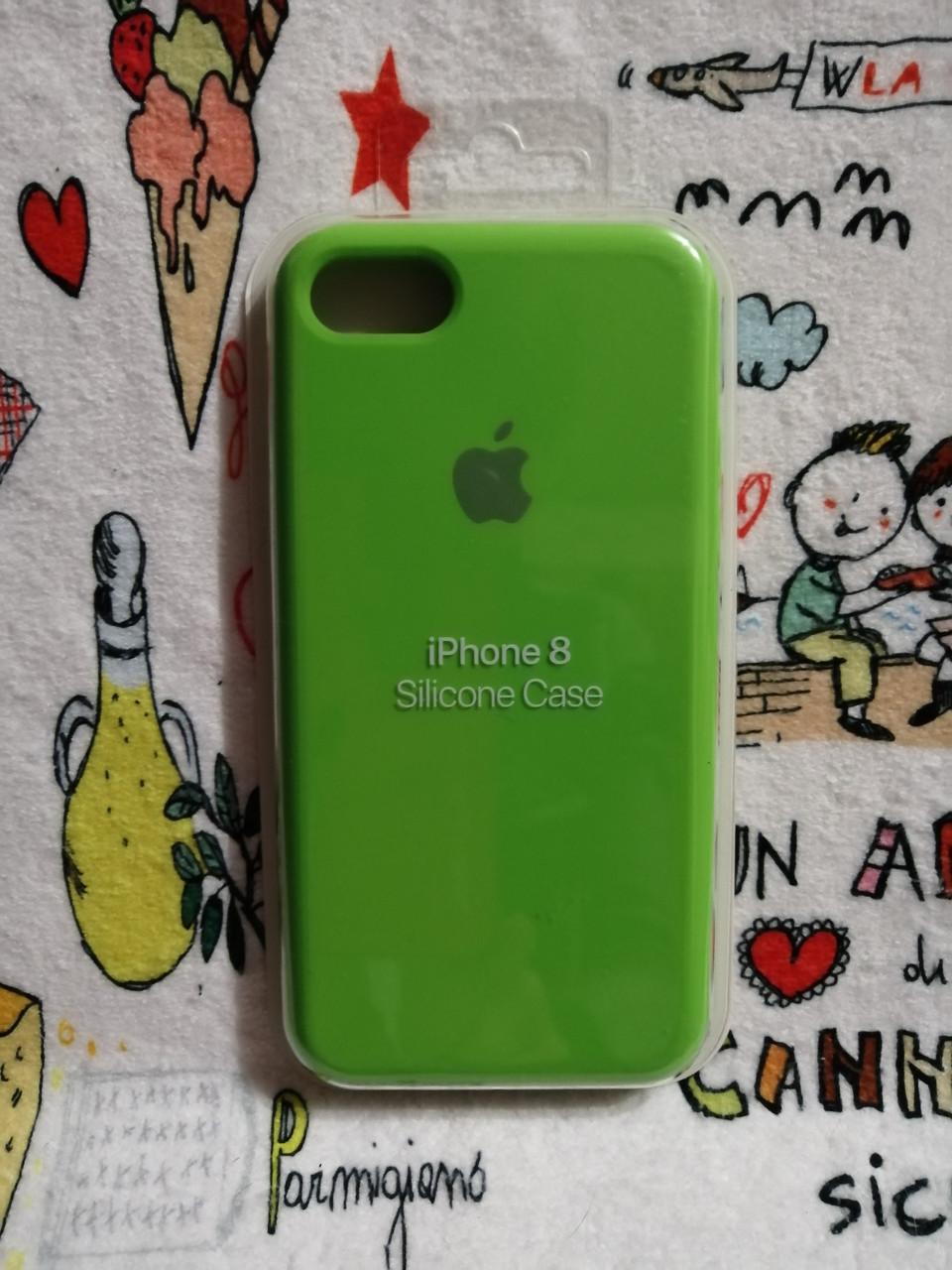 Силиконовый чехолApple Silicone CaseдляiPhone 7 / 8 - Color 24